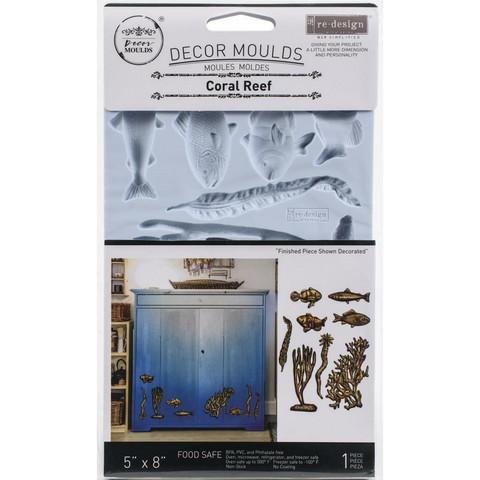 Prima Marketing - Decor Mould, Coral Reef, Silikonimuotti
