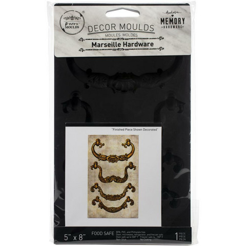 Prima Marketing - Decor Mould, Marseille Hardware, Silikonimuotti