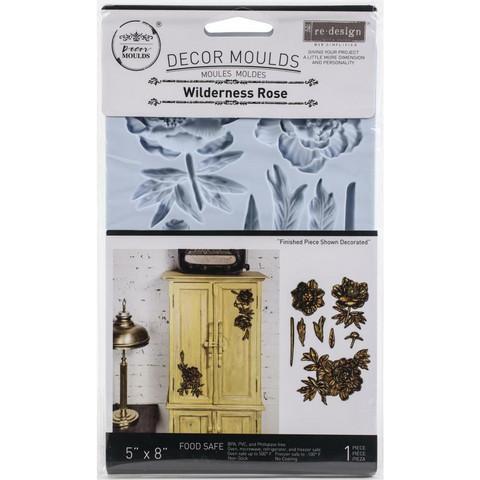 Prima Marketing - Decor Mould, Wilderness Rose, Silikonimuotti