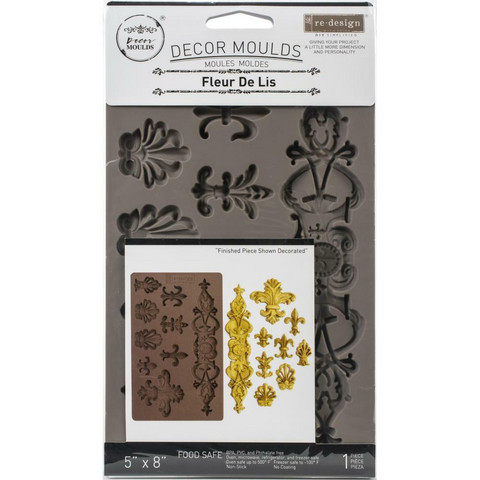 Prima Marketing - Decor Mould, Fleur De Lis, Silikonimuotti