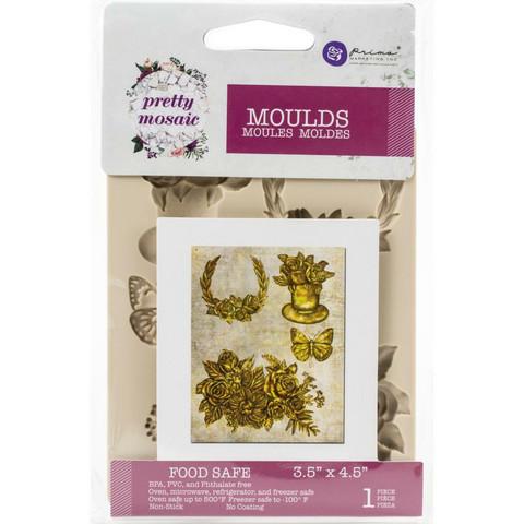 Prima Marketing - Decor Mould, Pretty Mosaic, Silikonimuotti
