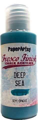 Paper Artsy - Fresco Finish, Akryylimaali, Deep Sea, 50ml