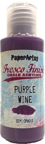 Paper Artsy - Fresco Finish, Akryylimaali, Purple Wine, 50ml