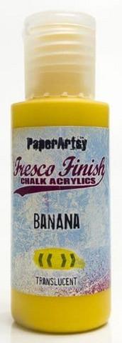 Paper Artsy - Fresco Finish, Akryylimaali, Banana, 50ml