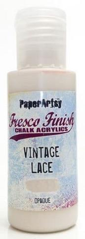 Paper Artsy - Fresco Finish, Akryylimaali, Vintage Lace, 50ml