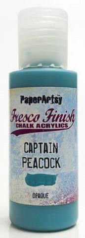 Paper Artsy - Fresco Finish, Akryylimaali, Captain Peacock, 50ml