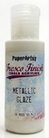 Paper Artsy - Fresco Finish, Akryylimaali, Metallic Glaze, 50ml