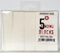 PaperArtsy - Sanding Blocks, 5kpl