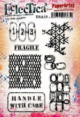 Paper Artsy - E³ Seth Apter 19, Leimasetti, A5