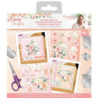 Crafter's Companion - Sara Signature Caring Thoughts, Die-Cut Decoupage Topper Pad, 6