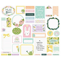 Simple Stories - Bunnies & Blooms Journal Bits & Pieces, 39 osaa