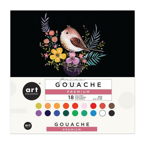Prima Marketing - Art Philosophy Gouache Set, 12ml
