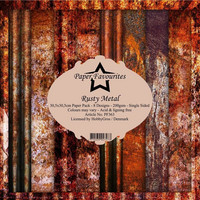 Paper Favourites - Rusty Metal 12