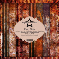 Paper Favourites - Rusty Metal 6