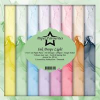 Paper Favourites - Ink Drops Light 6