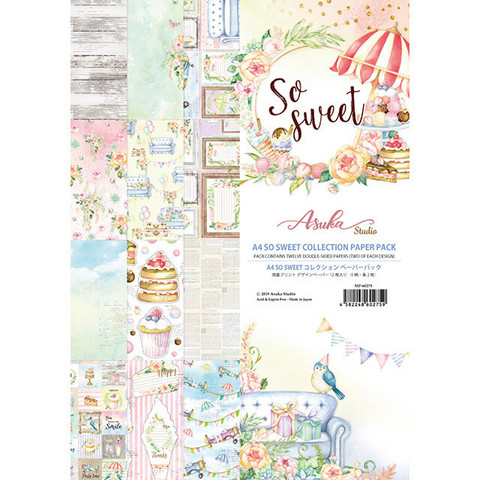 Memory Place - So Sweet A4, Paperikko