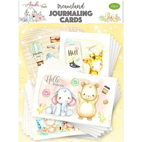 Memory Place - Dreamland, Journaling Cards, 20 osaa