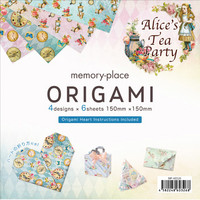 Memory Place - Alice's Tea Party Origami 6