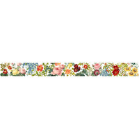 Memory Place - Floral Tapestry Washi Tape, 15mmx5m