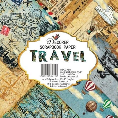 Decorer - Travel, Paper Pack 8