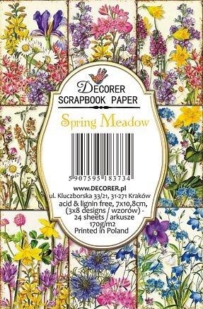 Decorer - Spring Meadow, Korttikuvia, 24 osaa