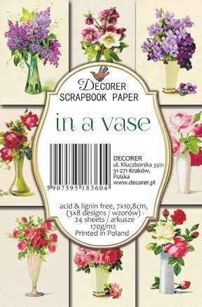 Decorer - In a Vase, Korttikuvia, 24 osaa