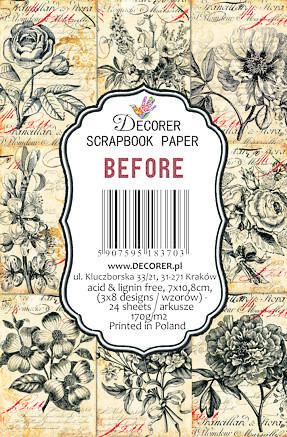 Decorer - Before, Korttikuvia, 24 osaa