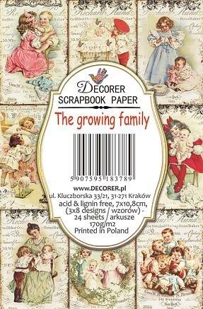 Decorer - The Growing Family, Korttikuvia, 24 osaa