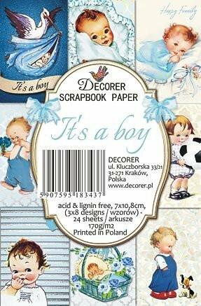 Decorer - It's a boy, Korttikuvia, 24 osaa