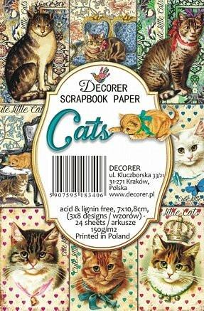 Decorer - Cats, Korttikuvia, 24 osaa
