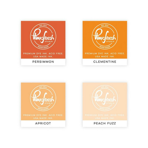Pinkfresh Studio - Premium Dye Cube Ink Pads, Indian Summer