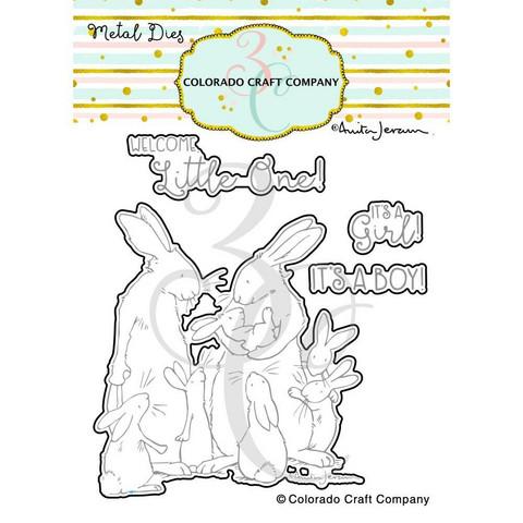 Colorado Craft Company - New Baby-By Anita Jeram, Stanssisetti