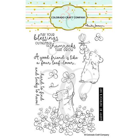 Colorado Craft Company - 4 Leaf Clover-By Anita Jeram, Leimasetti
