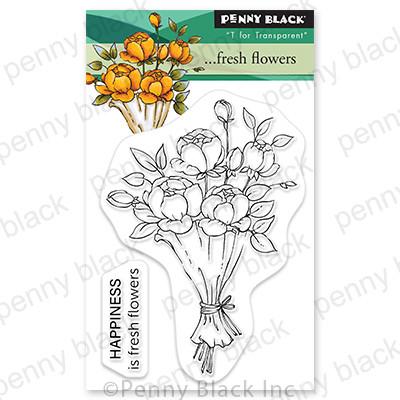 Penny Black -  ...Fresh Flowers, Leimasetti