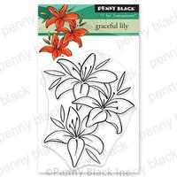 Penny Black - Graceful Lily, Leimasetti
