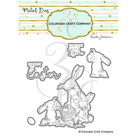 Colorado Craft Company - Happy Easter-By Anita Jeram, Stanssisetti