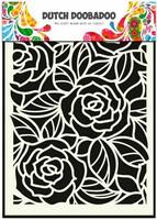 Dutch Doobadoo - Big Roses, A5, Sapluuna