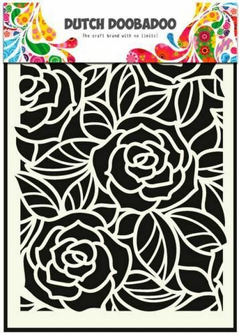 Dutch Doobadoo - Big Roses, A5, Sapluuna