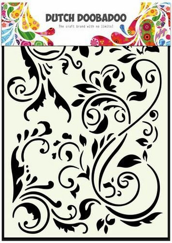 Dutch Doobadoo - Swirls, A5, Sapluuna