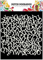 Dutch Doobadoo - Alphabet Background, 6