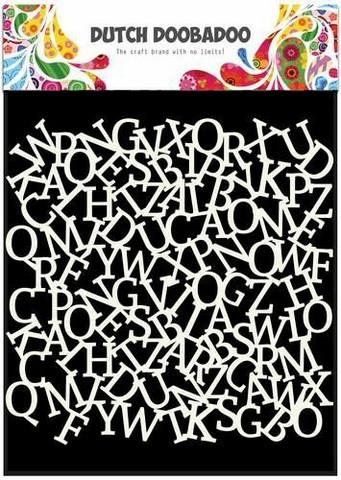 Dutch Doobadoo - Alphabet Background, 6