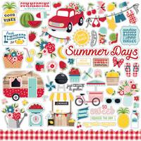 Echo Park - A Slice of Summer Element Sticker 12