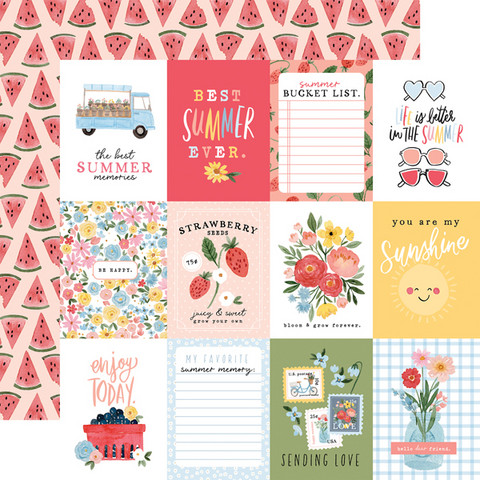 Carta Bella - Summer Double-Sided Cardstock 12