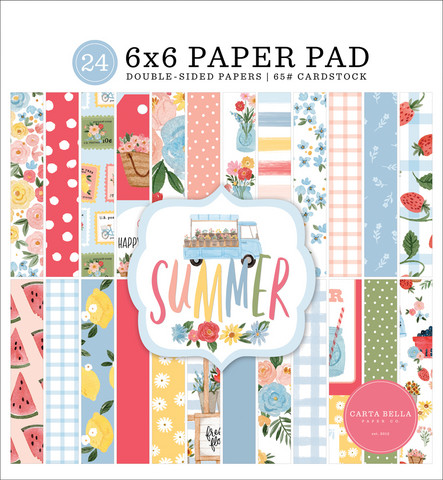 Carta Bella - Summer, Double-Sided Paper Pad 6
