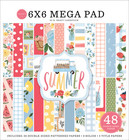 Carta Bella - Summer, Double-Sided Mega Paper Pad 6