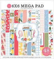 Carta Bella - Summer, Double-Sided Mega Paper Pad 6