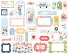 Carta Bella - Summer Frames & Tags, Leikekuvia, 33 kpl