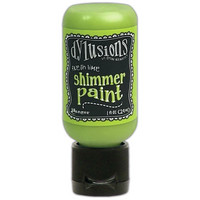 Dyan Reaveley - Dylusions Shimmer Acrylic Paint, Fresh Lime, 29ml