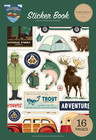 Carta Bella - Outdoor Adventures, Sticker Book, Tarrasetti