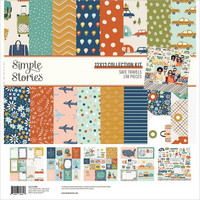 Simple Stories - Safe Travels Collection Kit 12